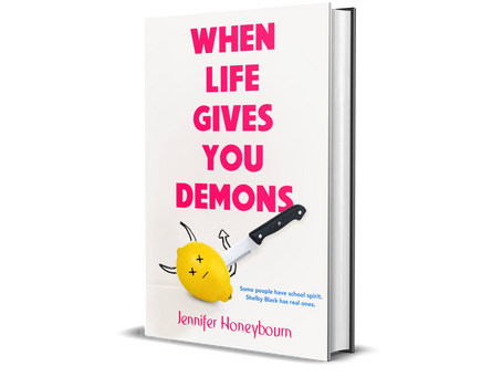 WHEN LIVE GIVES YOU DEMONS selected for YALSA list