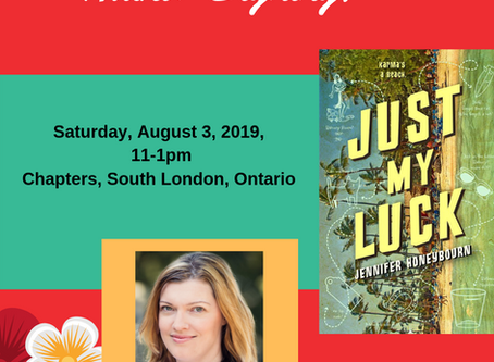 Signing at Chapters, South London - Sat, Aug 3, 2019