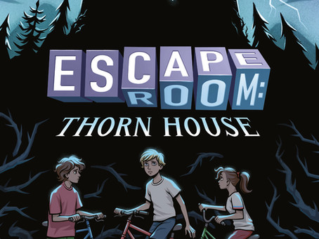 ESCAPE ROOM: THORN HOUSE by my alter ego J.E. Hailstone available exclusively at Barnes and Noble