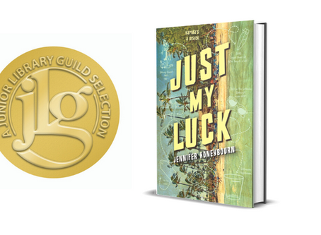 JUST MY LUCK a Junior Library Guild Gold Standard Selection!