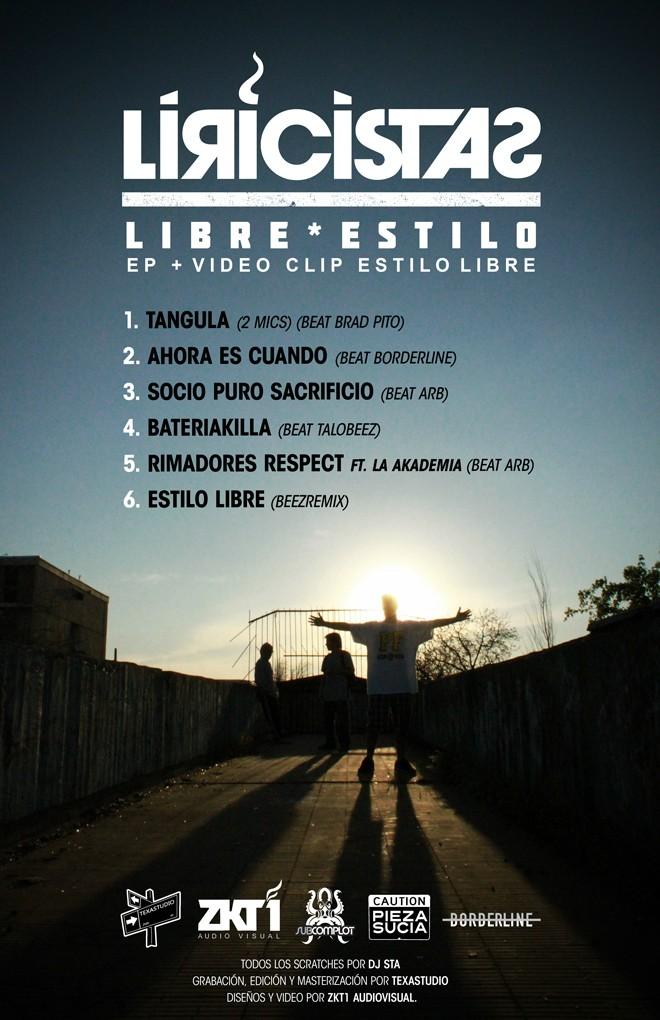 Liricistas - Libre Estilo EP