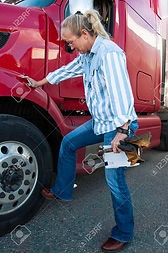 119298442-a-female-truck-driver-does-her