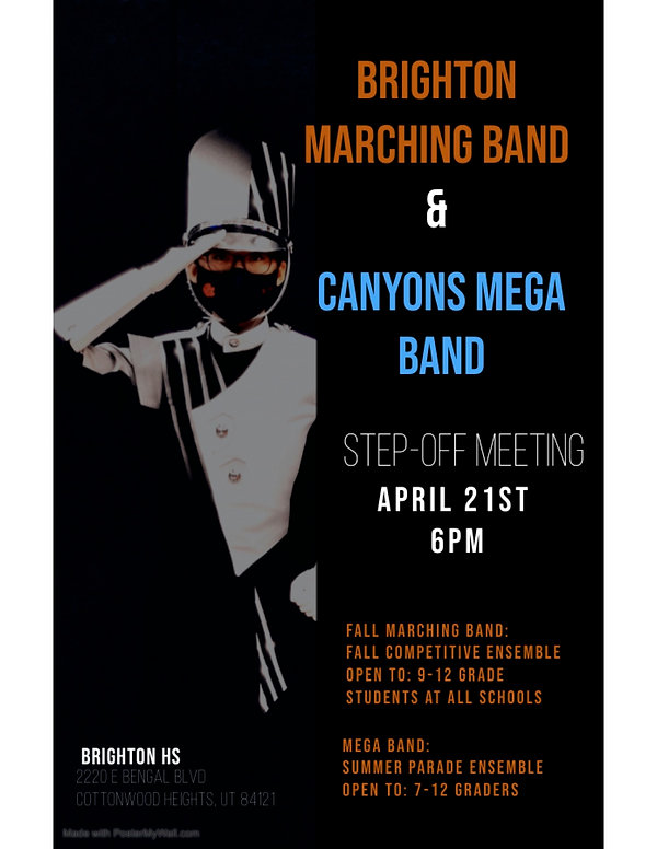 Brighton Marching Band Step-Off Meeting