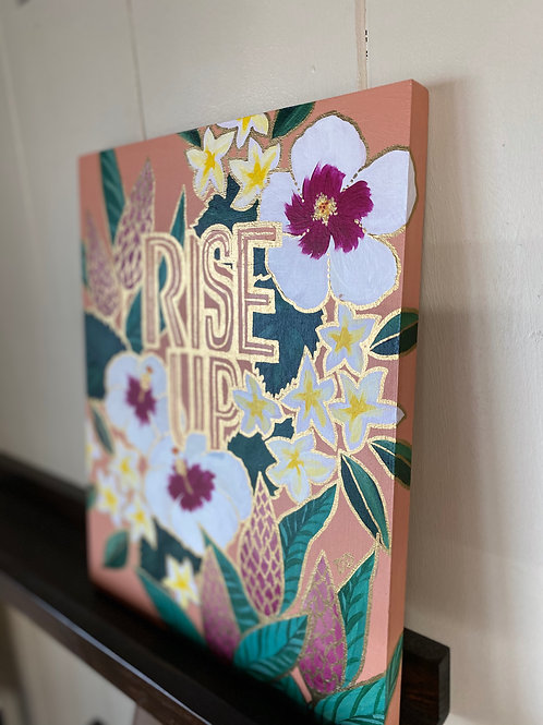 Rise Up - White Hibiscus