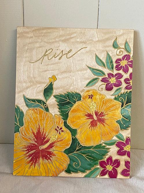Rise - Yellow Hibiscus
