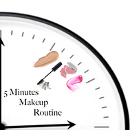 """My 5 Min """"Barely There"""" Makeup Routine"""
