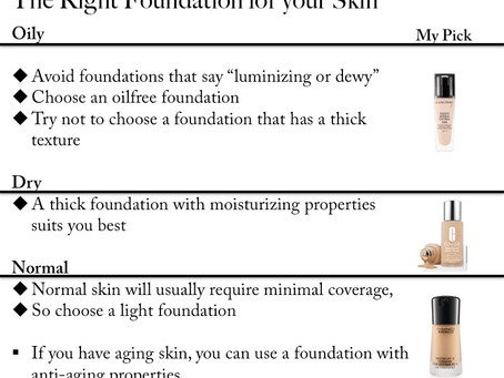 How to Choose your Foundation