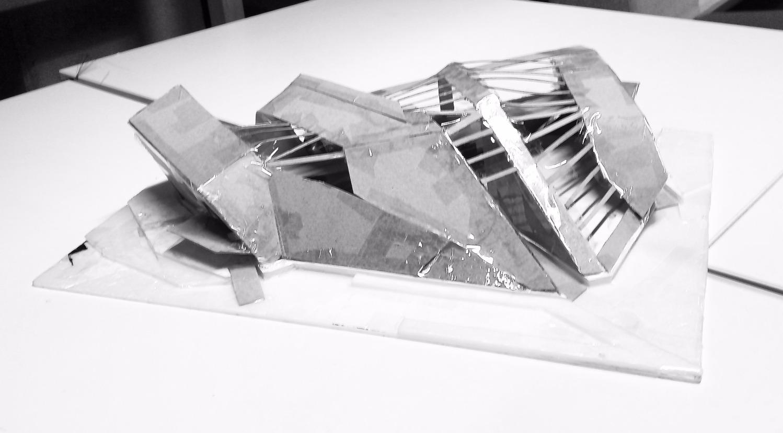 Concept Model 2/Cascading Plates