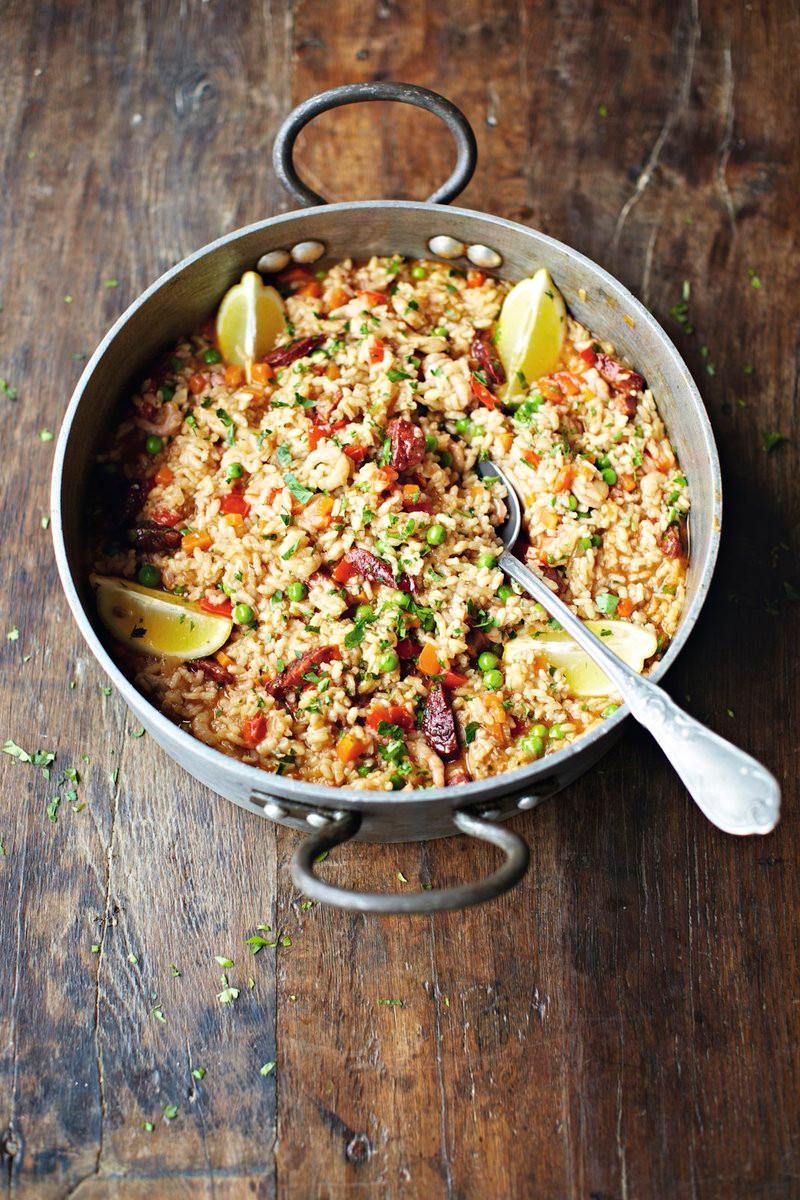 """""""Paella"""" de Jamie Oliver"""