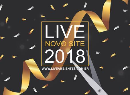 Novo Site da Live Ambientes