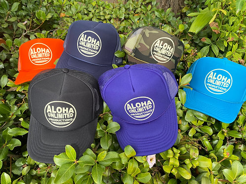 Aloha Unlimited Productions Trucker Hat