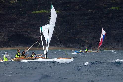Opelu Sailing Canoe