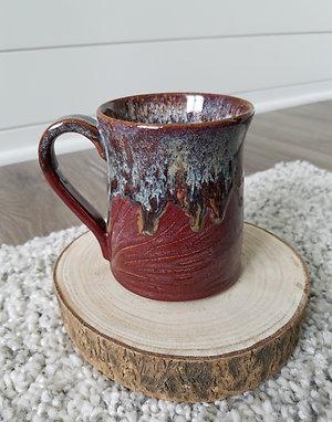 Speck plum drip mug