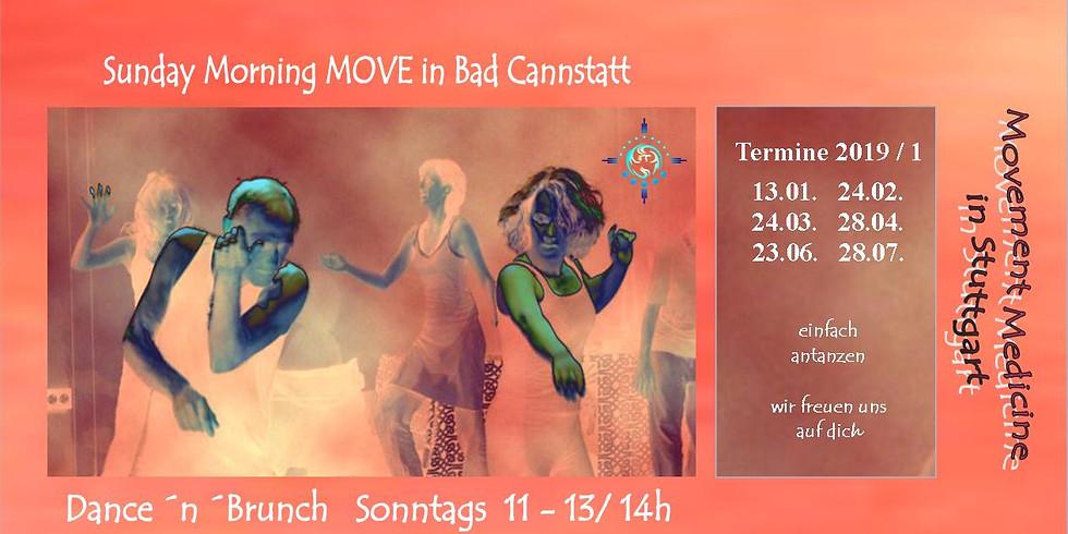 Sunday Morning MOVE – Dance and Brunch Stuttgart - Bad Cannstatt