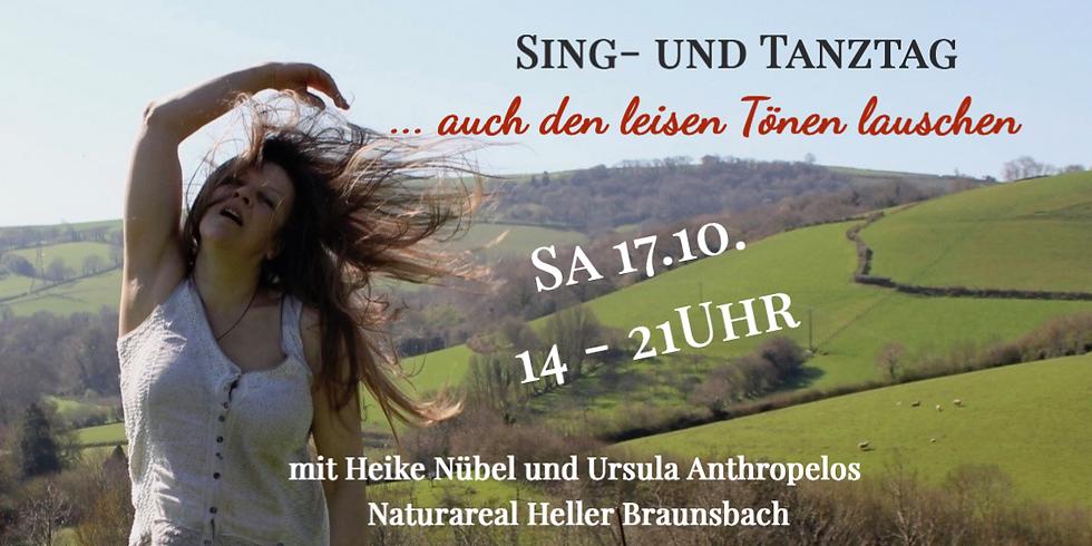 VERSCHOBEN  - Sing- & Tanz-Tag    ... auch den leisen Tönen lauschen