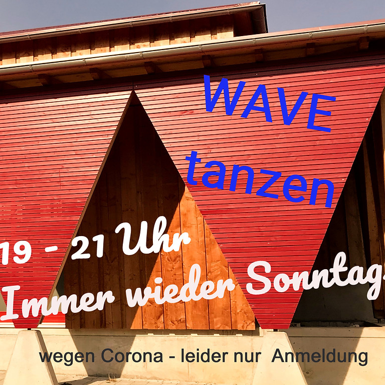 Haller WAVE Tanzen 08.08.  - für alle