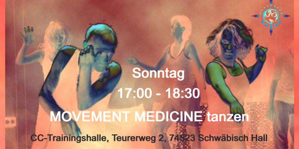 ABGESAGT Movement Medicine Tanzen 18.07. - in Hall  - Immer wieder Sonntags
