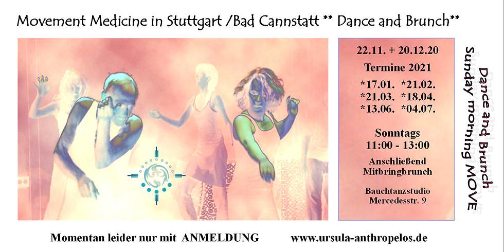 20.12. Sunday Morning MOVE – Dance and Brunch Stuttgart - Bad Cannstatt