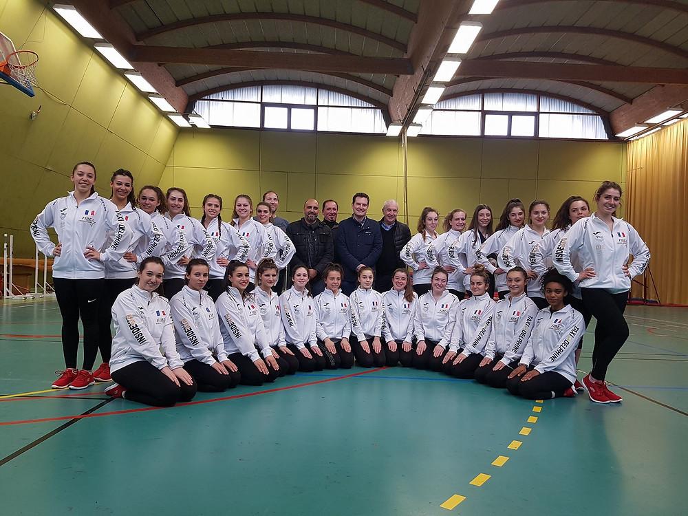 Fire Cheerleaders ASPTT PAU sponsors Worlds 2018