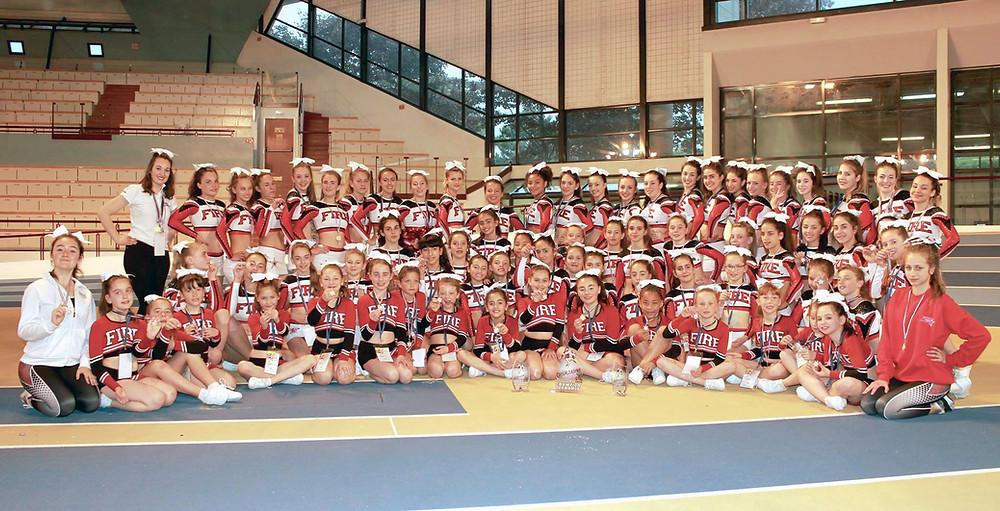 Championnat de France de Cheerleading 2017