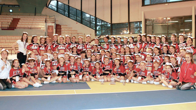 Asptt Fire Cheerleaders : club français le plus titré
