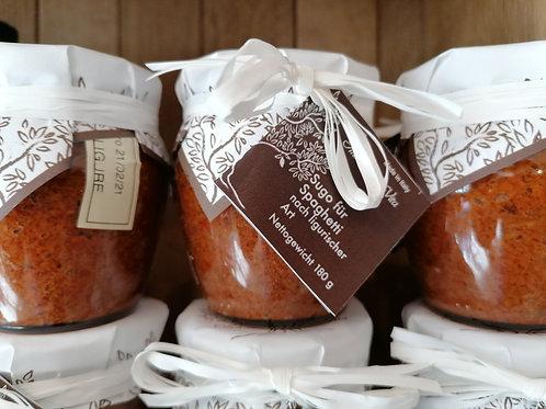 Sugo für Spaghetti nach ligurischer Art 180g, Lucchi & Guastalli