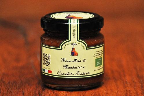Bio Mandarine-Zartbitterschokoladen-Marmelade, 220g
