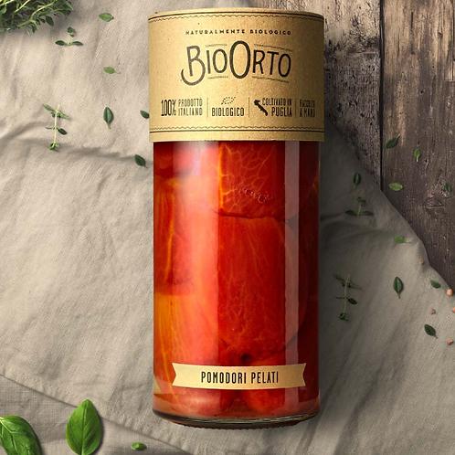 Geschälte Tomaten in Salzlake, 550g – Bio Orto