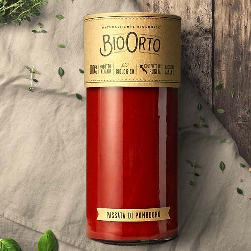Feines Tomatensugo im 520 g Glas –Bio Orto