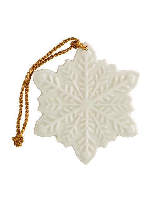 Weihnachtsbaum Anhänger Schneeflocke