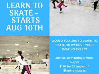 Learn to Skate Starts
