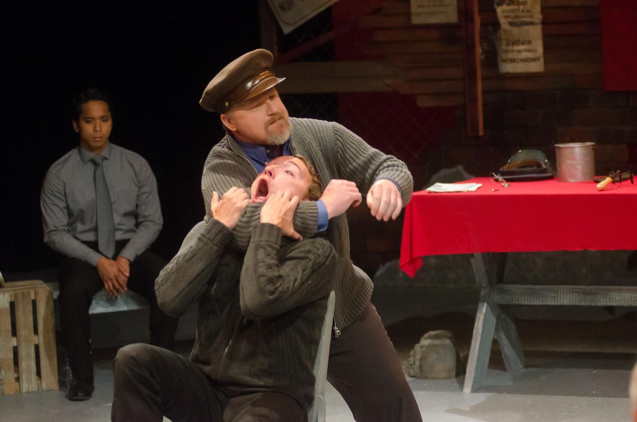 Andrew Behling as Young Karski