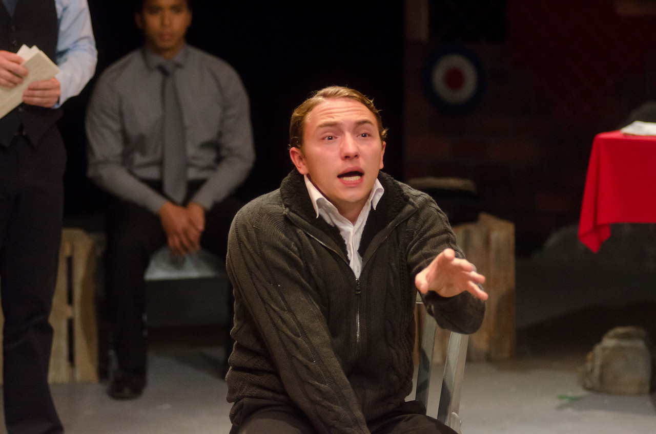 Andrew Behling as Young Karski