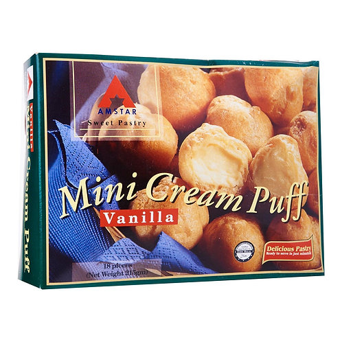 AMSTAR Mini Cream Puff - Vanilla