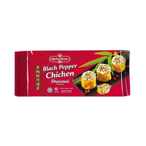 SPRING HOME Dumpling (Shao Mai) Black Pepper Chicken (10pcs)