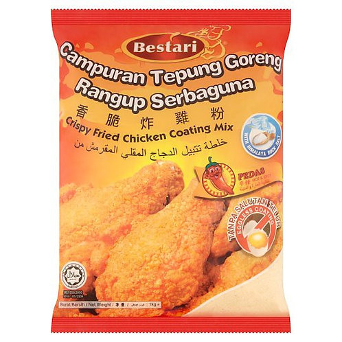 BESTARI Spicy Crispy Fried Chicken Coating (1kg)