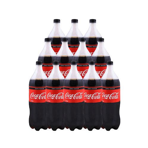 COCA COLA Zero (1.5L x 12)