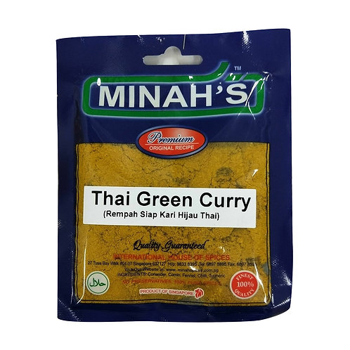 MINAH'S Thai Green Curry (50g)