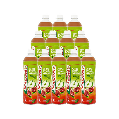 SEASONS Ice Apple Pomegranate Tea (1L x 12)