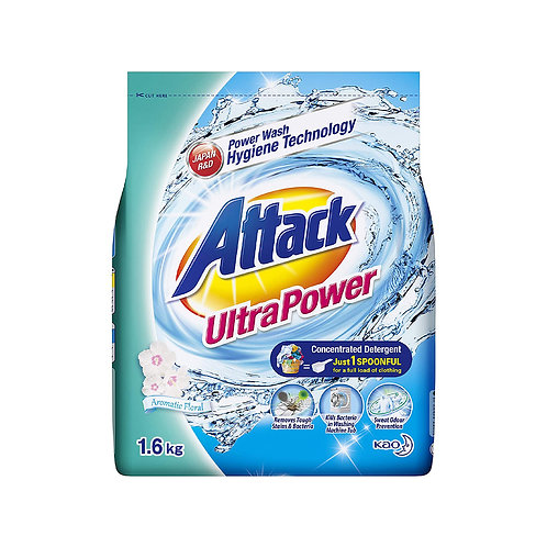 ATTACK Ultra Power Aromatic Floral (1.6kg)