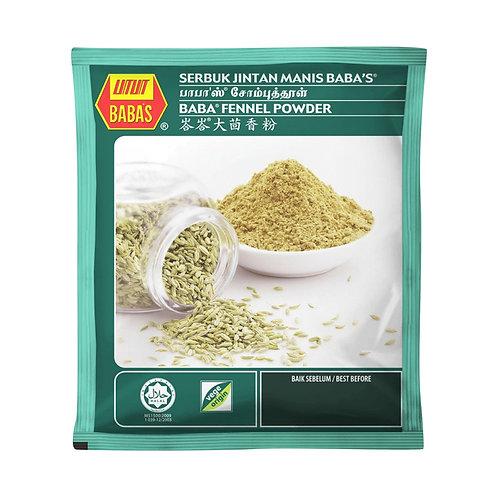 BABA'S Fennel Powder (Serbuk Jintan Manis) (70g)