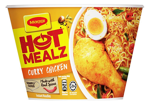 Maggi Hot Mealz Curry (96g)