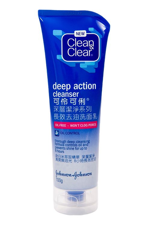 Clean & Clear Deep Cleanser Action