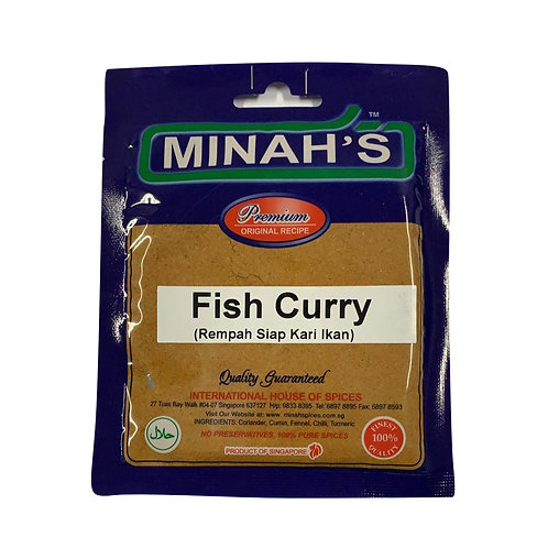 MINAH'S Fish Curry Powder (50g)