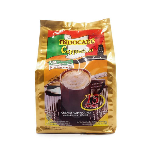INDOCAFE Cappuccino (15 sachets)