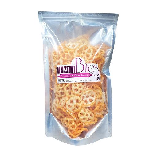 HEZOM Cheese Flavoured Wheel Crackers (60g)