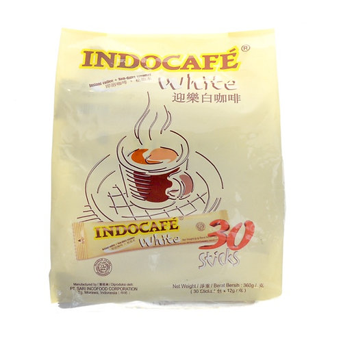 INDOCAFE White Coffee (30 sachets)