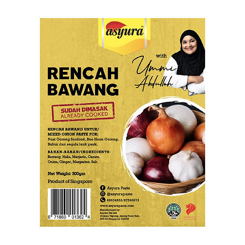 ASYURA Rencah Bawang