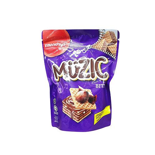MUNCHY'S Muzic Hazelnut Wafer Bites (180g)
