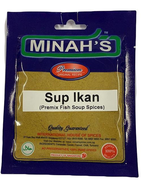 Minah's Fish Soup Spices 50g